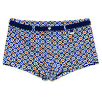 HOM  swimming lined stretch boxer shorts Puerto Rico pool sexy trunks sun summer