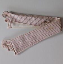 Striped utility collar Radiac Selsdon CC41 14.5 WW2 vintage 1940s wartime UNUSED