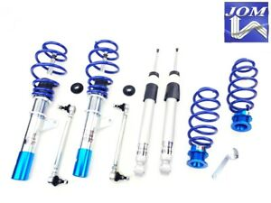 JOM ADJUSTABLE COILOVER KIT FOR VW GOLF 5 RABBIT MK5 + ADJUSTA SWAY BAR LINK