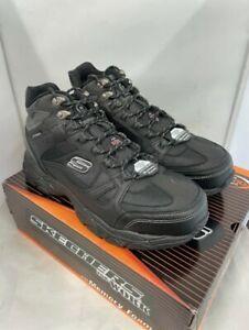 Mens Skechers Ledom Steel Toe SB Waterproof Safety Work Boots Size UK 10