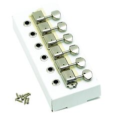 Genuine Fender Original Series Lefty Tuners For Strat/Tele - NICKEL 099-2040-002