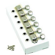 Genuine Fender Original Series Lefty Tuners For Strat/Tele - NICKEL 099-2040-002