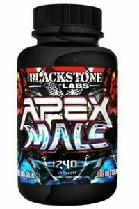 Blackstone Labs - Apex Male 240 Caps | Testosterone Booster Muscle *USA VERSION*