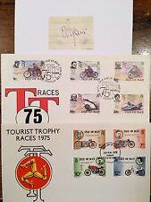 TT especial: Alberto Pagani autógrafo y dos TT cubiertas de primer día