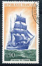 STAMP / TIMBRE FRANCE OBLITERE N° 1717 BATEAU 3 MATS TERRE NEUVAS
