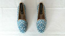 """RARE! Mens $525 Stubbs & Wootton Needlepoint """"CUENCA"""" Loafers Slippers Shoes 10"""