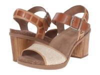NEW Dansko Debby Platform, Taupe Leather Sandals, Women Size 42 (11.5-12) $150