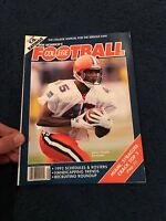1992 Pre Season NCAA FOOTBALL Preview Magazine SU Qadry Ismail Cover Miami #1
