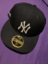 Aime Leon Dore 7 3/8 New Era Chain Stitch Yankee 5950 Fitted BLACK New York NYC