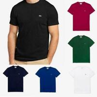 Lacoste Men's Crew Neck Pima Cotton Athletic Casual T-Shirt Tee