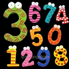 Kids Baby Learning Teaching Magnetic Wooden Letters Numbers Fridge Magnet