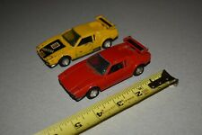 Vintage SENSEI MINI POWER DIE-CAST 408 DETOMASO PANTERA toy car lot