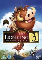 The Lion King 3 Hakuna Matata [DVD]