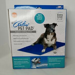 K&H Pet Products Coolin' Pet Pad XL Pet Bed/Pad Indoor/Outdoor Cool Core w/Water