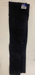 PRO-TUFF BLACK Size 34 CARGO PANTS EMT, SECURITY Pants NEW CLOSEOUTS