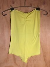 American Apparel - Strapless Bodysuit - Size M - Slime Colour