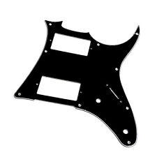 3 Ply Electric Guitar Pickguard Scratch Plate For Ibanez GRX20Z Parts Black