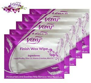 After Wax Wipes, Post Wax treatment Body Waxing  - Free UK Mainland Delivery
