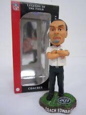Herm Edwards New York Jets Limited Edition FOCO Turf Coach Bobblehead w/box
