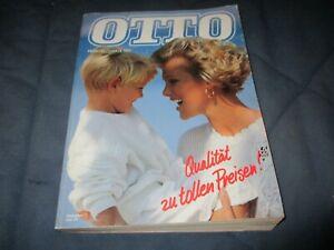 Otto Katalog Versandhauskatalog Frühling Sommer 91 1991 komplett