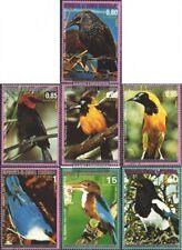 Äquatorial-Guinea 1007-1013 (kompl.Ausg.) gestempelt 1976 Nordamerikanische Vöge