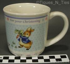 Wedgwood Beatrix Potter Peter Rabbit For Your Christening Child's Coffee Mug (GG