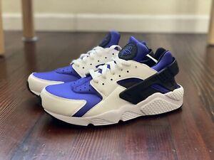 Size 10.5 Nike Air Huarache Run SE Mens AT4254-100 Persian Violet White Shoes
