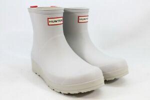 Hunter Original Play Boot Short Women's White 8M(ZAP8544)