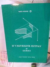 Esercizi  di analisi matematica vol 2