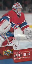 Upper Deck 2015-16 Serie 1 Base & Young Guns Set (249)
