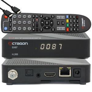 ➨ Octagon SX87 Full-Hd S2 + IP H.265 Multistream Assis Iptv Récepteur + WLAN