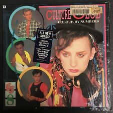 *Culture Club - Colour By Numbers 1983 Vinyl Record LP w/ hype sticker, shrink