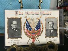"1908 POST CARD ""THE NATIONS CHOICE""------------------------------------------jor"