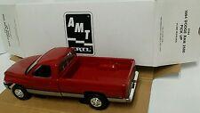 AMT Ertl 1994 Dodge Ram 2500 Pick Up #6194, Flame Red/Silver, Dealer Promo, New
