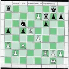 Sint Maarten postfris 2012 MNH vel/sheet 107a-107s - Schaken / Chess (XL102)
