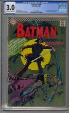 BATMAN #189 CGC 3.0 1ST SILVER AGE SCARECROW 017