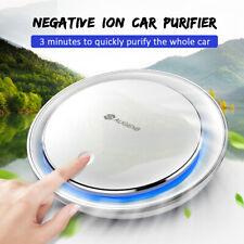 Augienb Ionizer Car Air Purifier Hepa Filter Rgb Light Smoke Odors