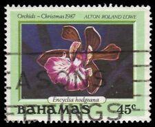 "BAHAMAS 638 (SG816) - Christmas ""Encyclia hodgeana Orchid"" (pa51465)"