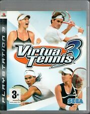 PS3 - Virtua Tennis 3 (Sony PlayStation 3, 2007) - COMPLETE