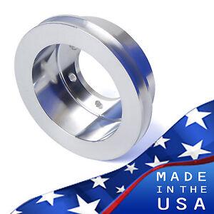 Mopar Aluminum Crankshaft Pulley 273 318 360 Crank 1V