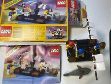 LEGO 6257 Pirates Castaway's Raft BOX Instruction1989 Pirate Shark
