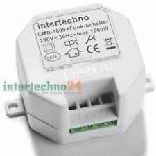 Intertechno Funk-Einbauschalter CMR-1000, 1000 Watt, 230V, Zur Ein-Ausschaltung