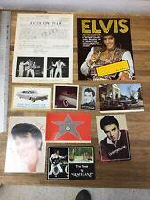 "ELVIS PRESLEY Postcards Vintage Prints Memorabilia "" 1w"