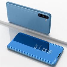 Samsung Galaxy Note 10 / Note 10 Plus Case Stand Luxury Mirror Flip Slim Cover