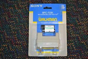 NEW NOS Sony BPC-700K Rechargeable Battery Kit Walkman Sealed