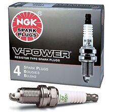 YR5 V-Power NGK Spark Plug, 7052 Set of 4 Spark Plugs