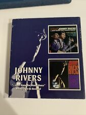 And I Know You Wanna Dance/Whisky a Go-Go Revisited by Johnny Rivers (Cd,.