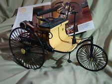 Franklin Mint 1886 Benz Patent Motorwagen  First Benz Car 1:8 VERY RARE *MINT*