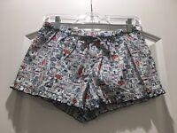 NWOT women's ruffle sleep shorts sz S