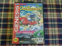 Outrunners - Authentic - Sega Genesis - Case / Box Only!